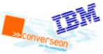 IBM and Converseon logos