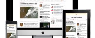 Responsive Web Design Example RWD Boston Globe