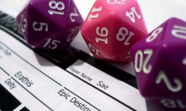 Gamification role playing games multi-sided dice die