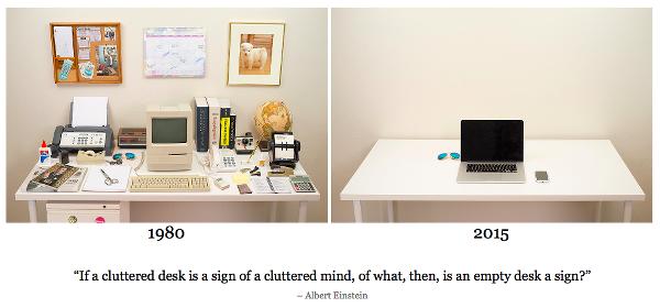Evolution of Desk (screenshot)
