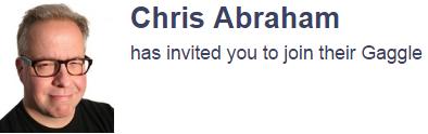 Chris Abraham GaggleAMP Gaggle
