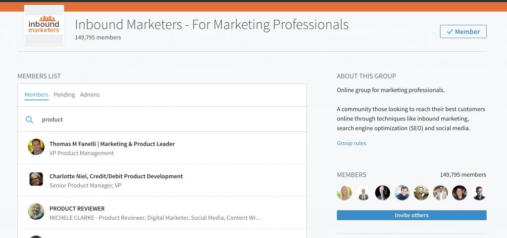 Search LinkedIn Groups - Mindi Rosser - Biznology