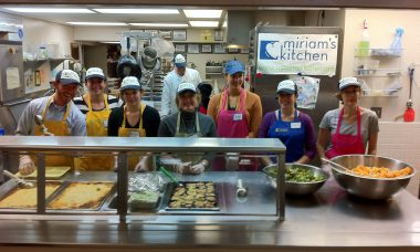 Miriam's Kitchen feeds the homeless every single day