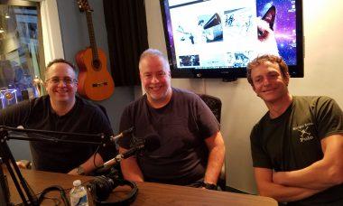 ERNESTO GLUECKSMANN, CHRIS ABRAHAM, and MICKEY PANAYIOTAKIS from THROUGH THE NOISE podcast