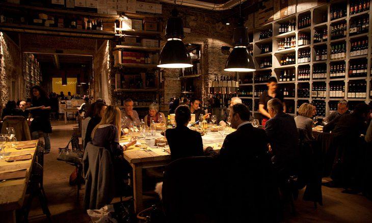Formal multi-course Italian Dinner Meal