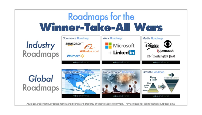 New Roadmaps for the coming Winner-Take-All Digital Wars