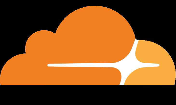 Giant Cloudflare Logo
