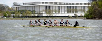 GW Men's Rowing GWU Men's Crew on the Potomac
